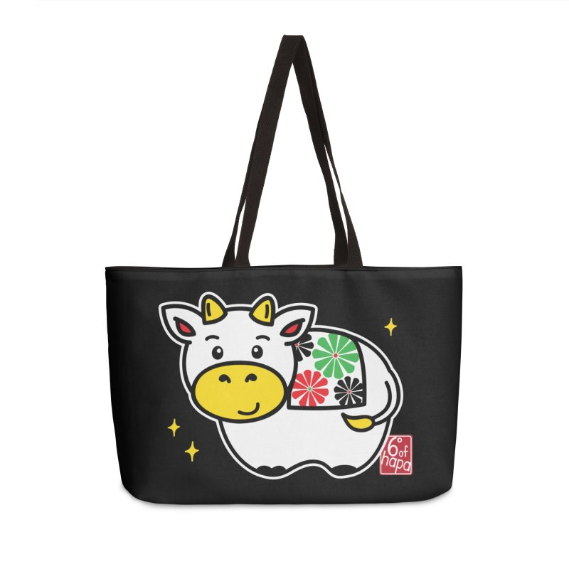 Year of the Ox - Shiro Accessories Bag by 6degreesofhapa's Artist Shop