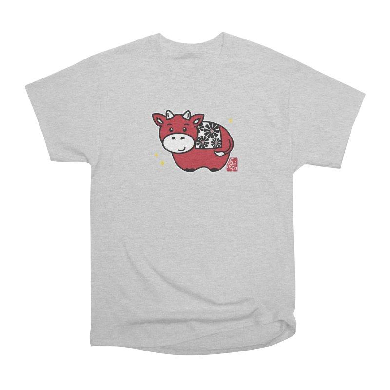 Year of the Ox - Aka Men's T-Shirt by 6degreesofhapa's Artist Shop