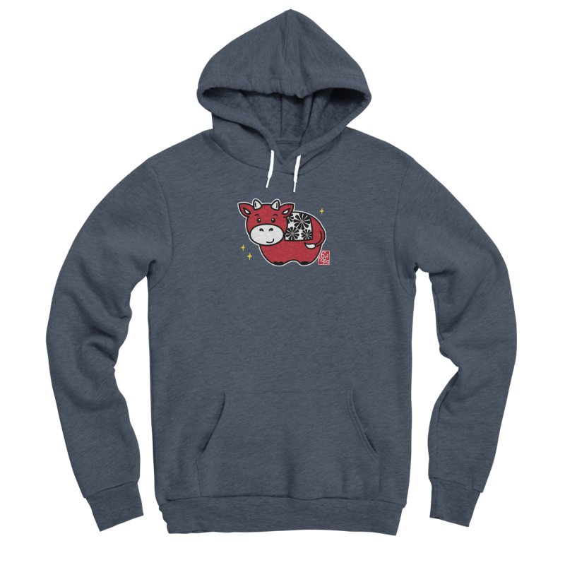 Year of the Ox - Aka Men's Pullover Hoody by 6degreesofhapa's Artist Shop