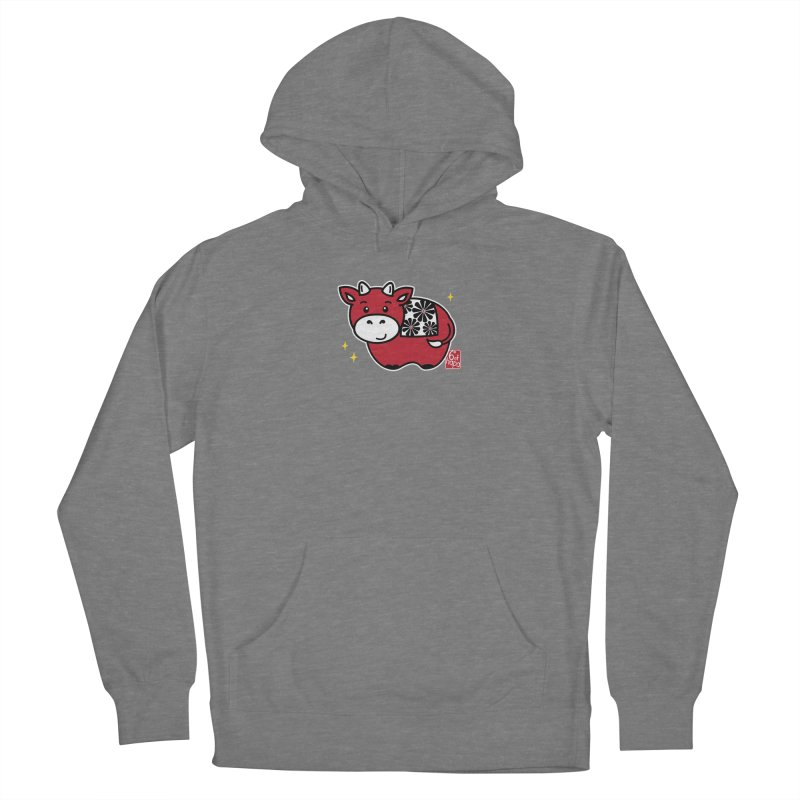 Year of the Ox - Aka Women's Pullover Hoody by 6degreesofhapa's Artist Shop