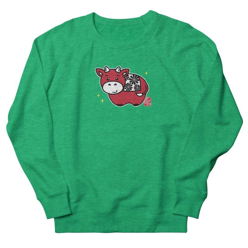 Year of the Ox - Aka Women's Sweatshirt by 6degreesofhapa's Artist Shop