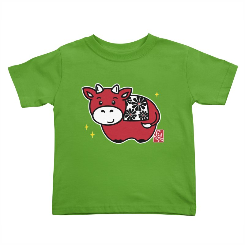 Year of the Ox - Aka Kids Toddler T-Shirt by 6degreesofhapa's Artist Shop