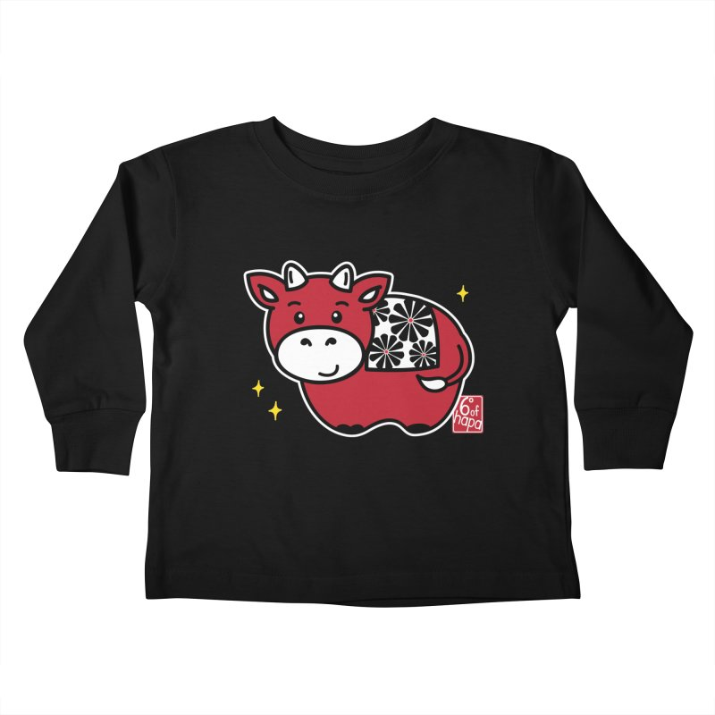 Year of the Ox - Aka Kids Toddler Longsleeve T-Shirt by 6degreesofhapa's Artist Shop