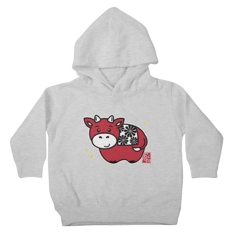 Year of the Ox - Aka Kids Toddler Pullover Hoody by 6degreesofhapa's Artist Shop
