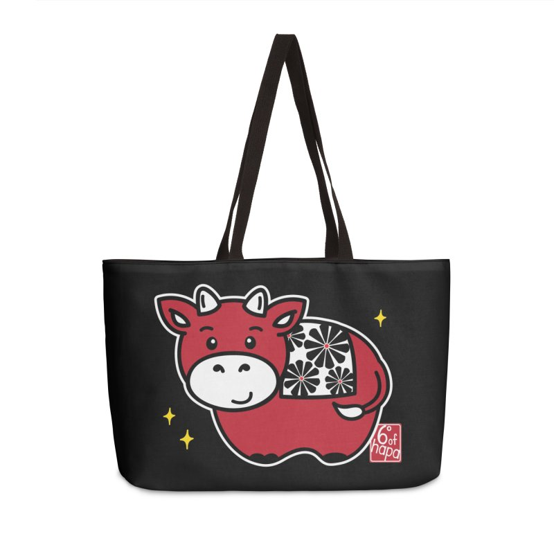 Year of the Ox - Aka Accessories Bag by 6degreesofhapa's Artist Shop