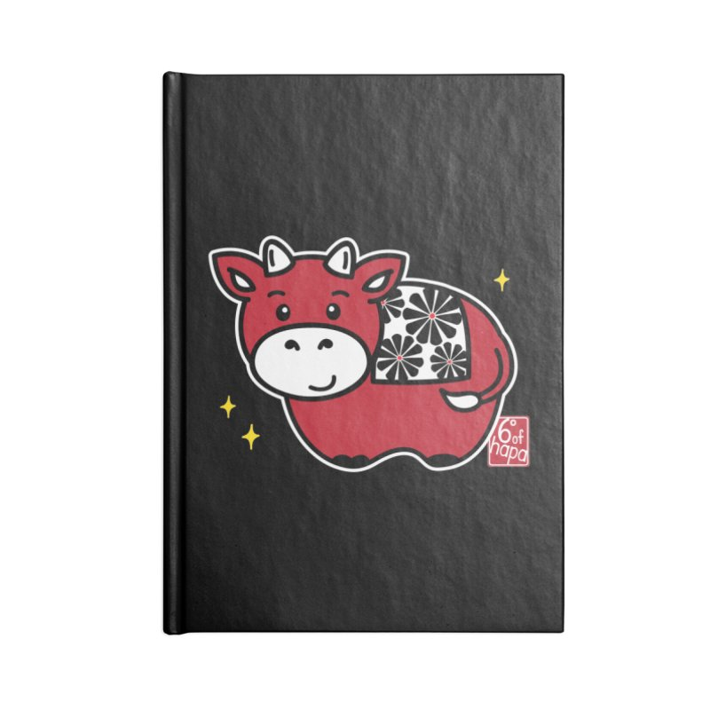 Year of the Ox - Aka Accessories Notebook by 6degreesofhapa's Artist Shop