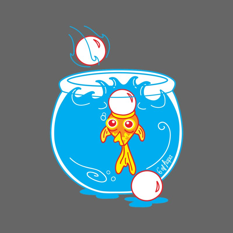 Ping Pong Goldfish Men's T-Shirt by 6degreesofhapa's Artist Shop