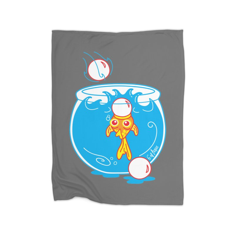 Ping Pong Goldfish Home Blanket by 6degreesofhapa's Artist Shop