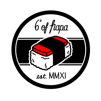 6degreesofhapa's Artist Shop Logo
