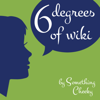 6 Degrees of Wiki podcast Logo