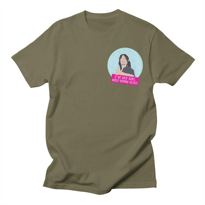 If we were books would Norman Reedus? Men's Regular T-Shirt by iridescent matter