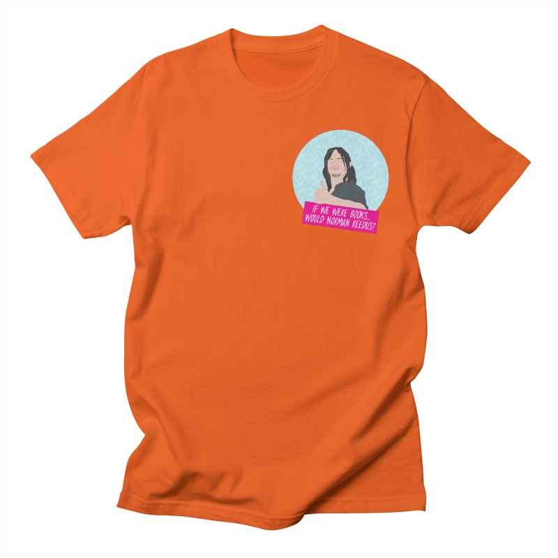 If we were books would Norman Reedus? Men's T-Shirt by iridescent matter