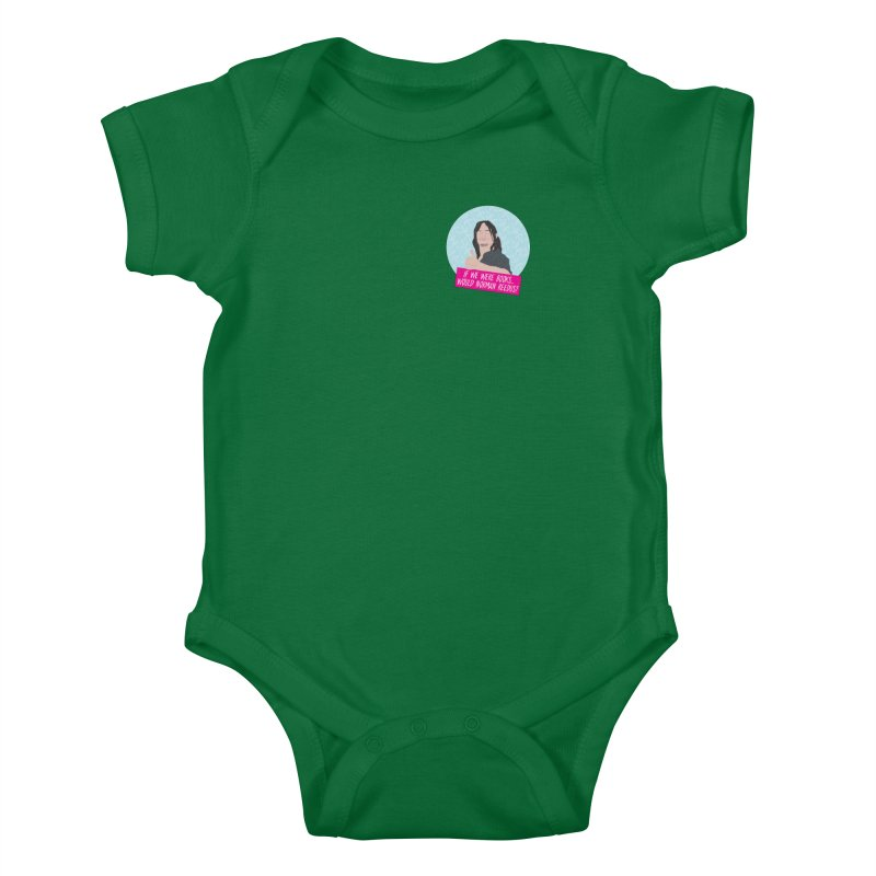 If we were books would Norman Reedus? Kids Baby Bodysuit by iridescent matter