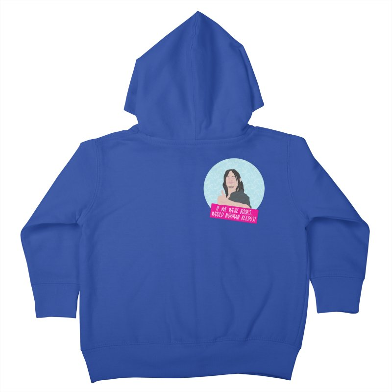 If we were books would Norman Reedus? Kids Toddler Zip-Up Hoody by iridescent matter