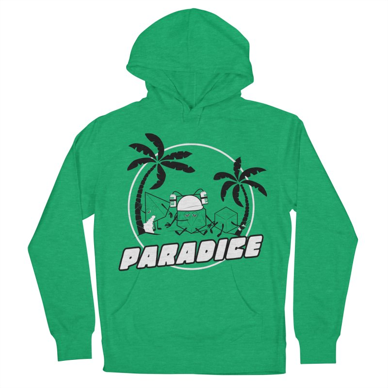 paradice Men's French Terry Pullover Hoody by iridescent matter