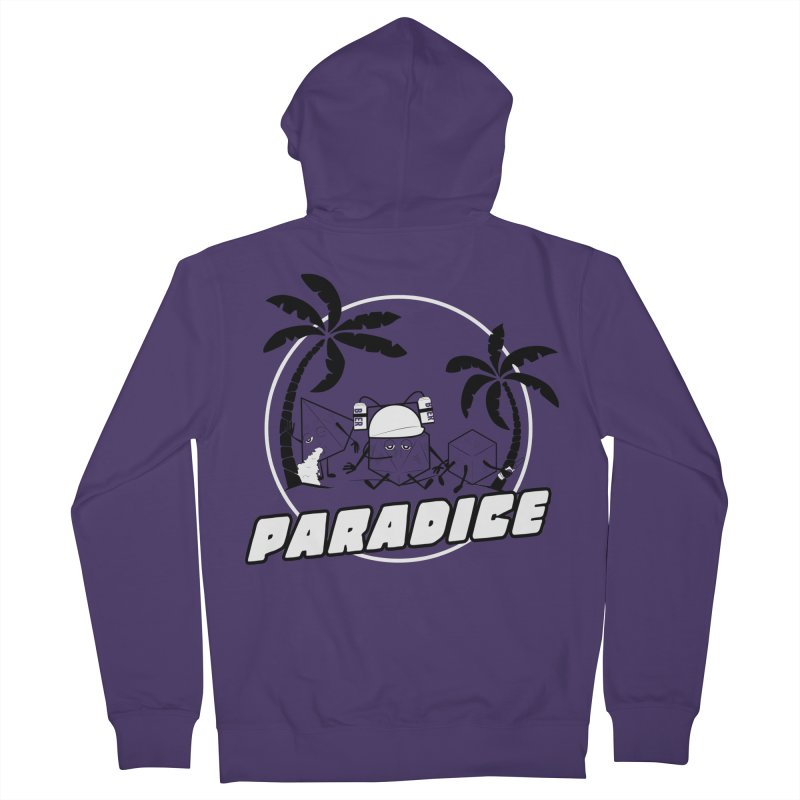paradice Women's French Terry Zip-Up Hoody by iridescent matter
