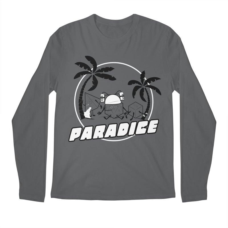 paradice Men's Regular Longsleeve T-Shirt by iridescent matter