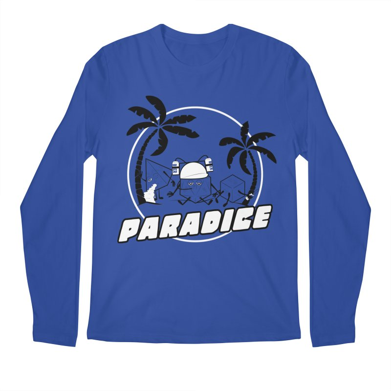 paradice Men's Longsleeve T-Shirt by iridescent matter