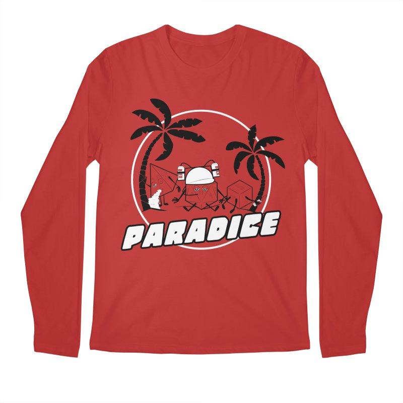 paradice Men's Longsleeve T-Shirt by iridescent matter