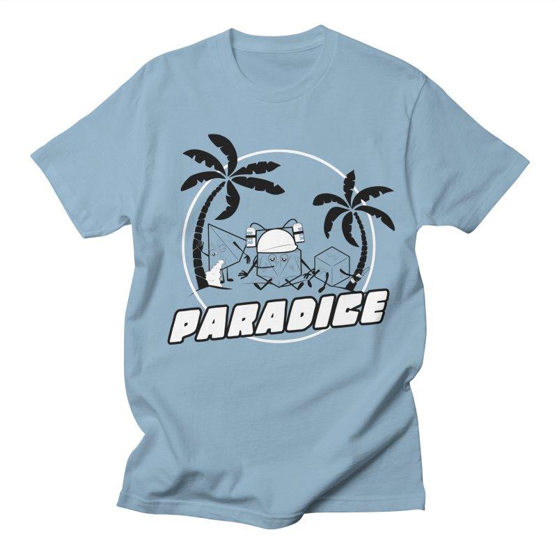 paradice Men's Regular T-Shirt by iridescent matter