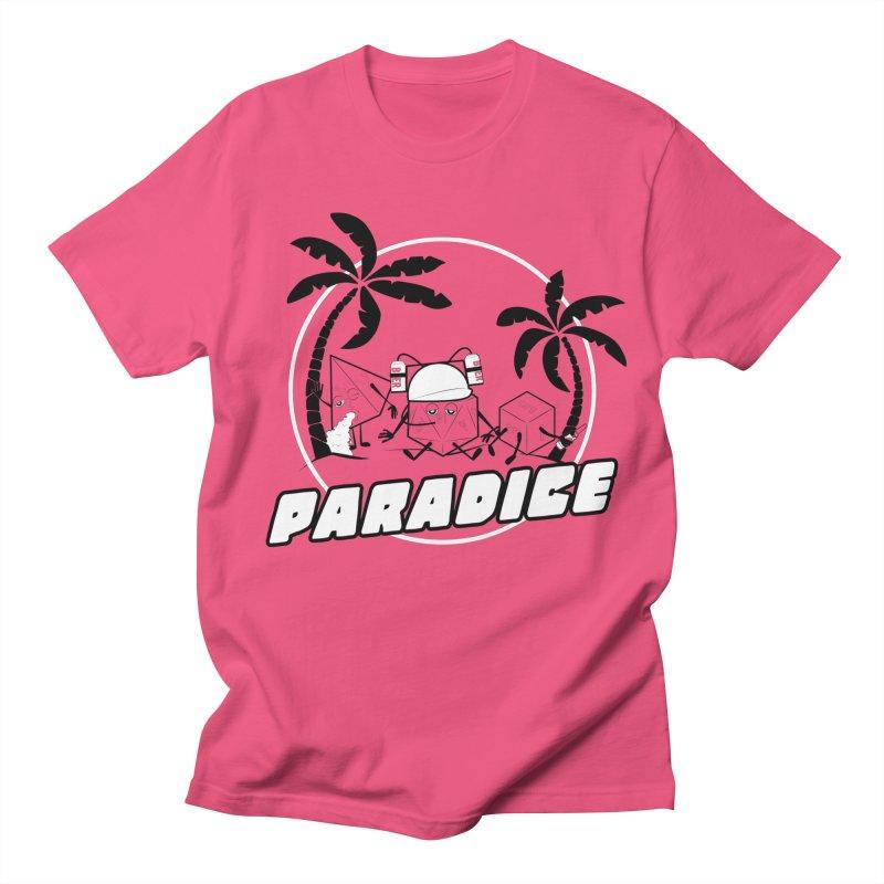 paradice Men's T-shirt by iridescent matter