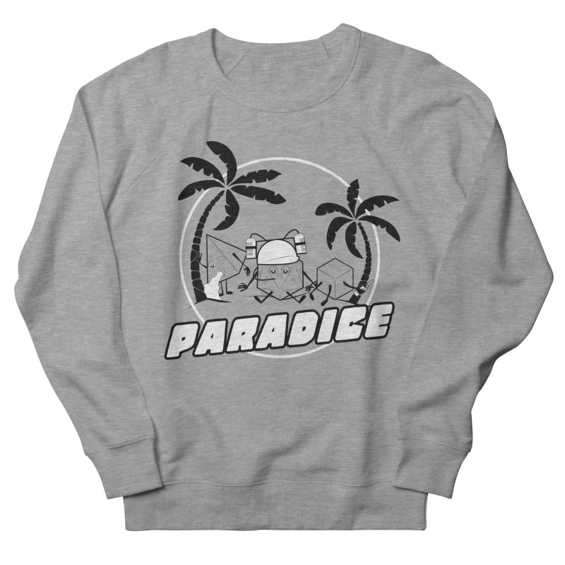 paradice Women's French Terry Sweatshirt by iridescent matter