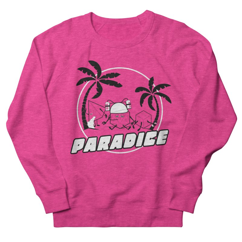 paradice Men's French Terry Sweatshirt by iridescent matter