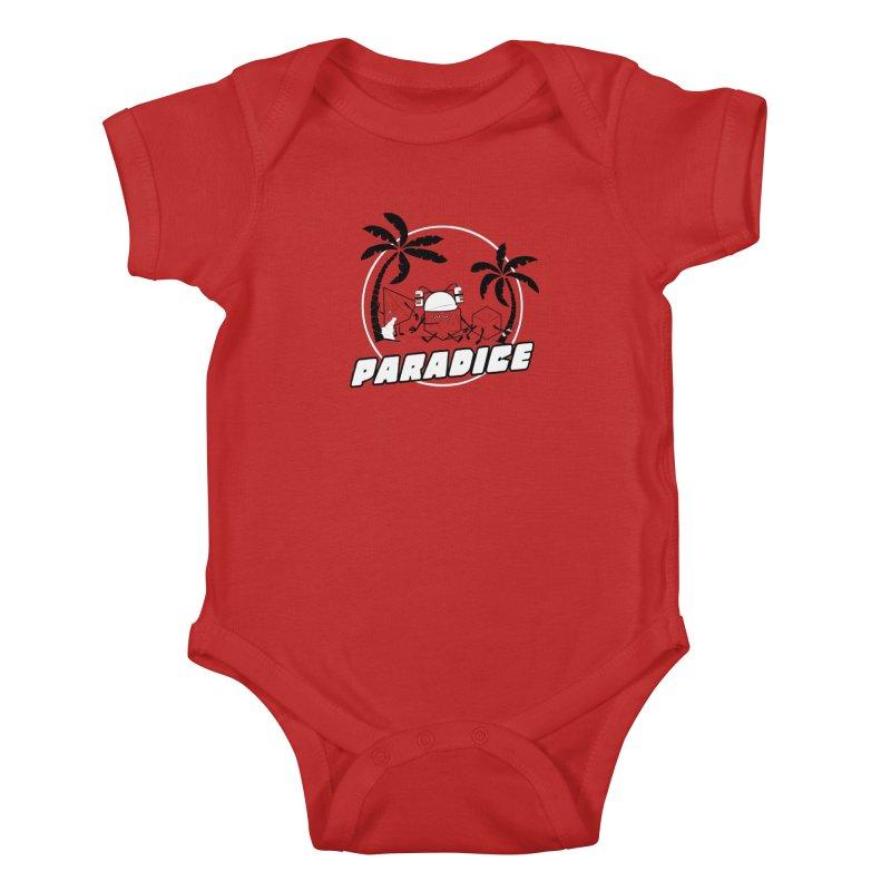 paradice Kids Baby Bodysuit by iridescent matter