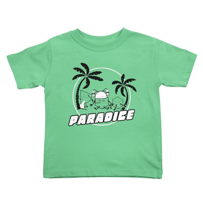 paradice Kids Toddler T-Shirt by iridescent matter