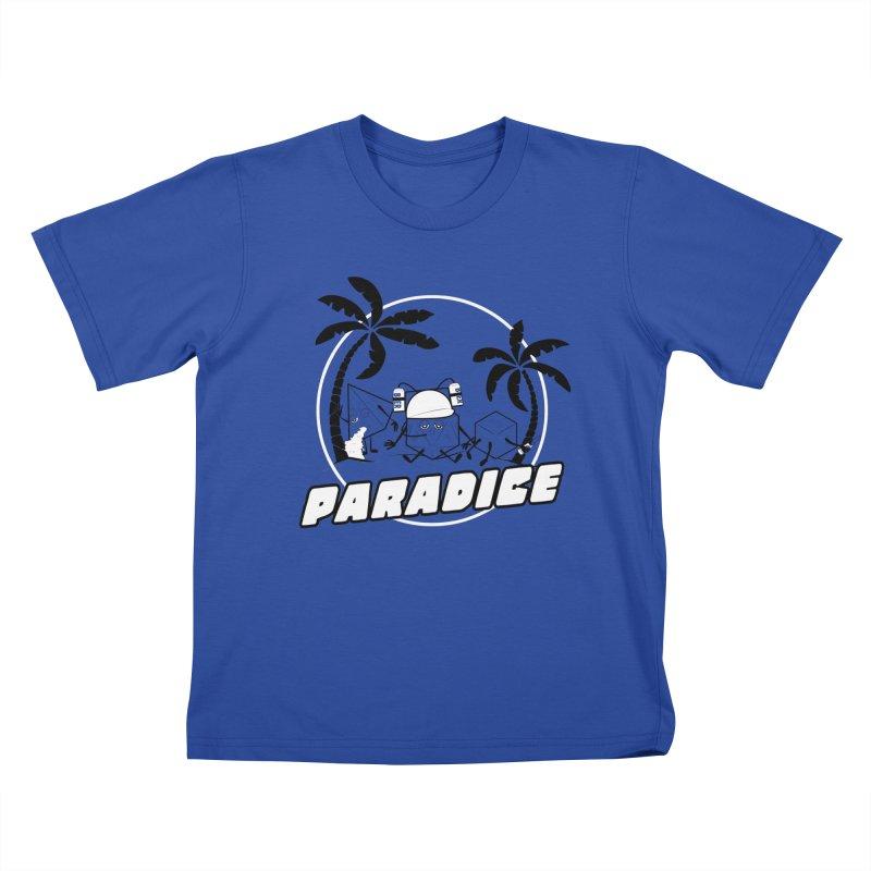 paradice Kids T-Shirt by iridescent matter