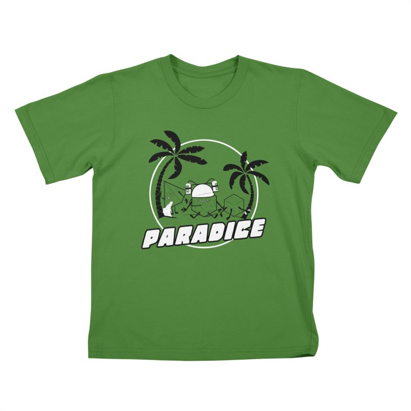 paradice Kids T-Shirt by iridescent matter