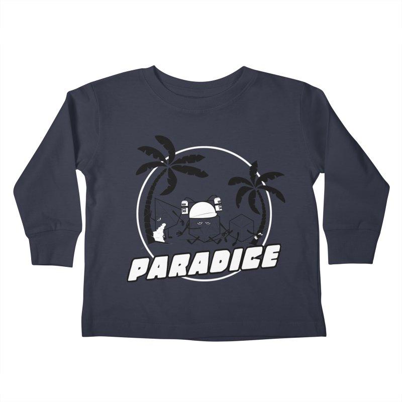 paradice Kids Toddler Longsleeve T-Shirt by iridescent matter