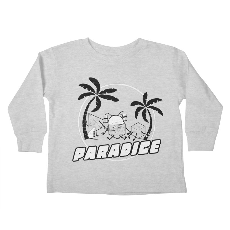 paradice Kids Toddler Longsleeve T-Shirt by iridescent matter