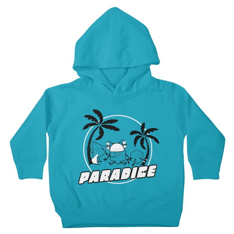 paradice Kids Toddler Pullover Hoody by iridescent matter