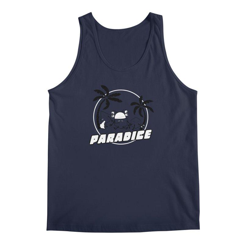 paradice Men's Tank by iridescent matter