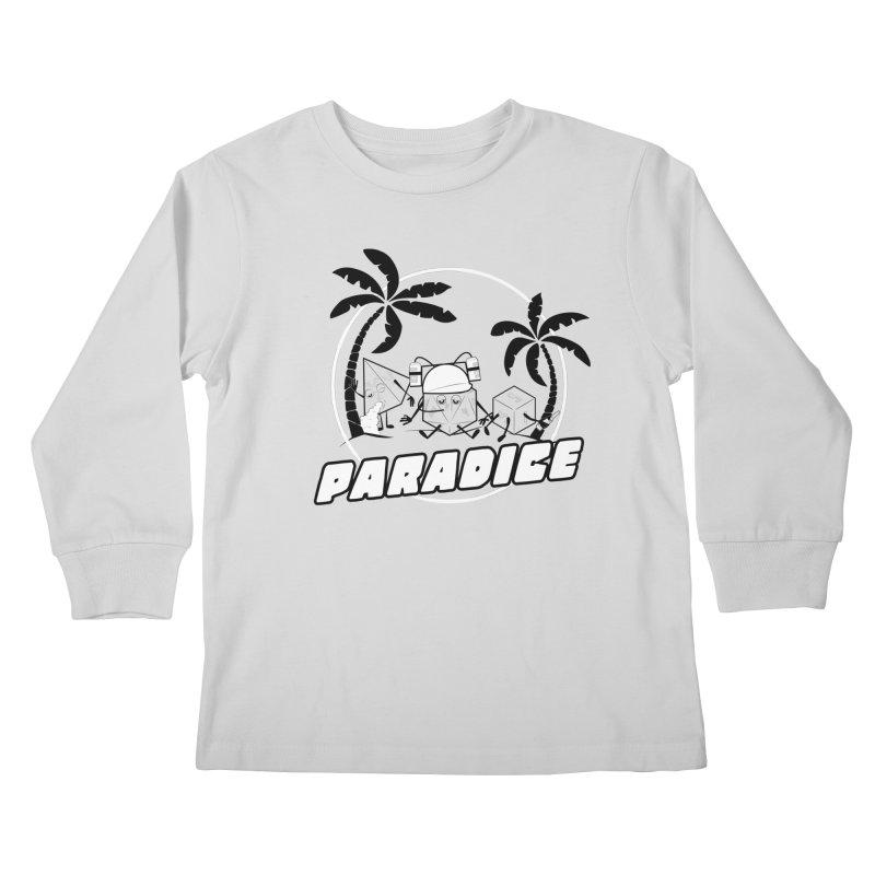 paradice Kids Longsleeve T-Shirt by iridescent matter