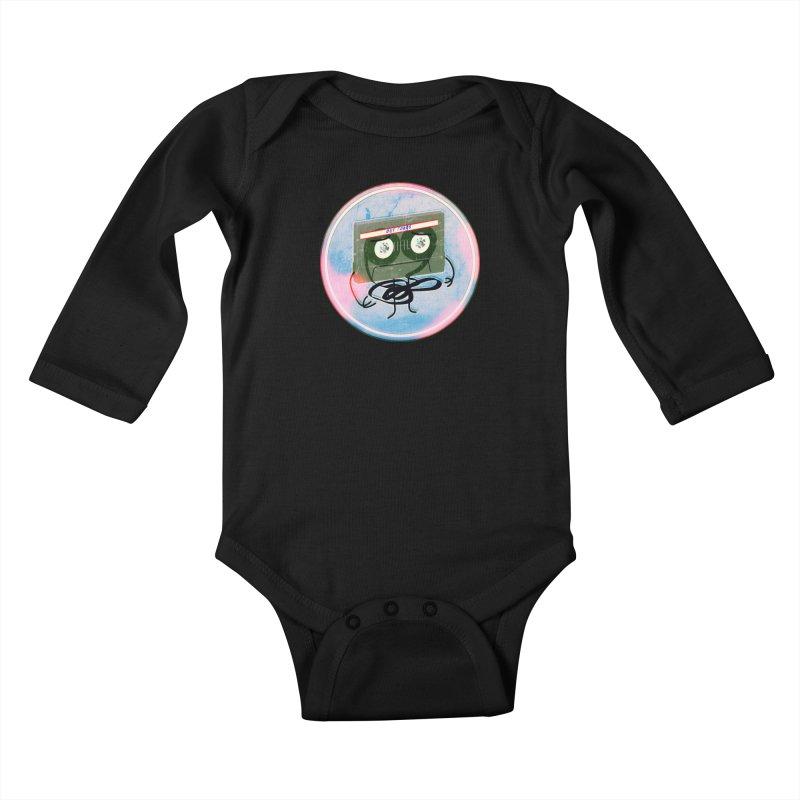 90's Break up. Kids Baby Longsleeve Bodysuit by iridescent matter