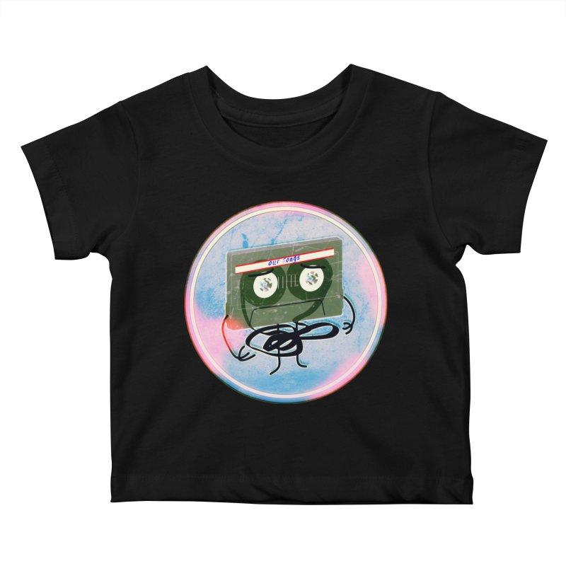 90's Break up. Kids Baby T-Shirt by iridescent matter