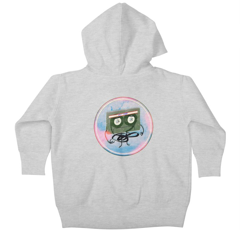 90's Break up. Kids Baby Zip-Up Hoody by iridescent matter