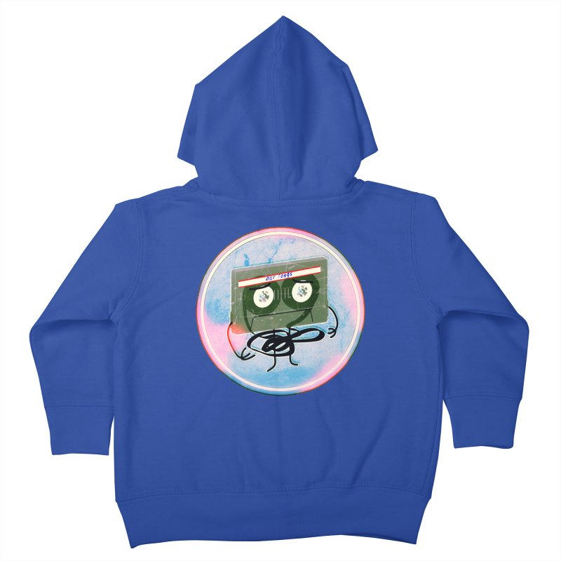 90's Break up. Kids Toddler Zip-Up Hoody by iridescent matter