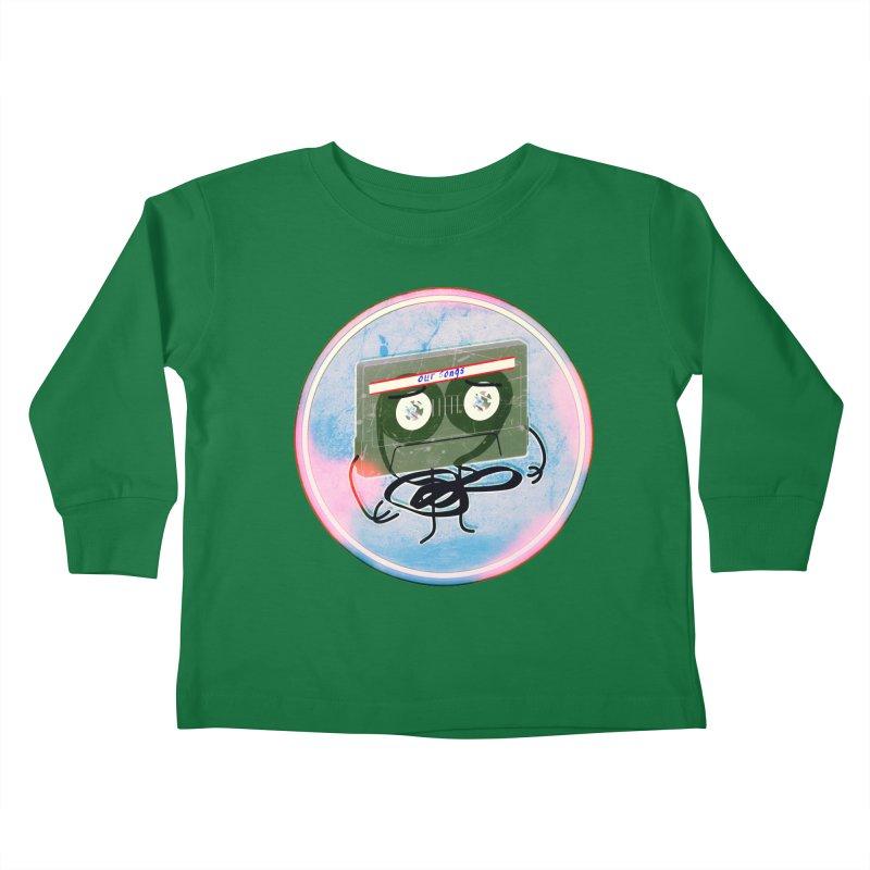 90's Break up. Kids Toddler Longsleeve T-Shirt by iridescent matter