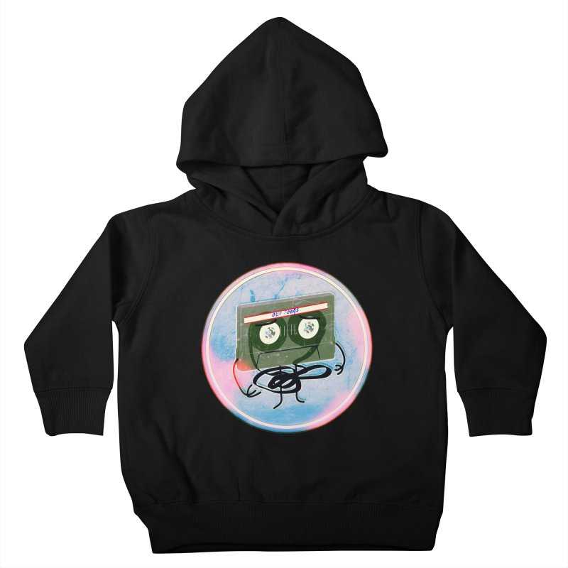 90's Break up. Kids Toddler Pullover Hoody by iridescent matter
