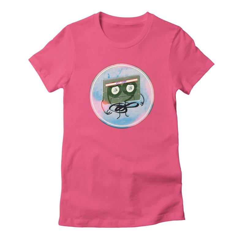 90's Break up. Women's Fitted T-Shirt by iridescent matter