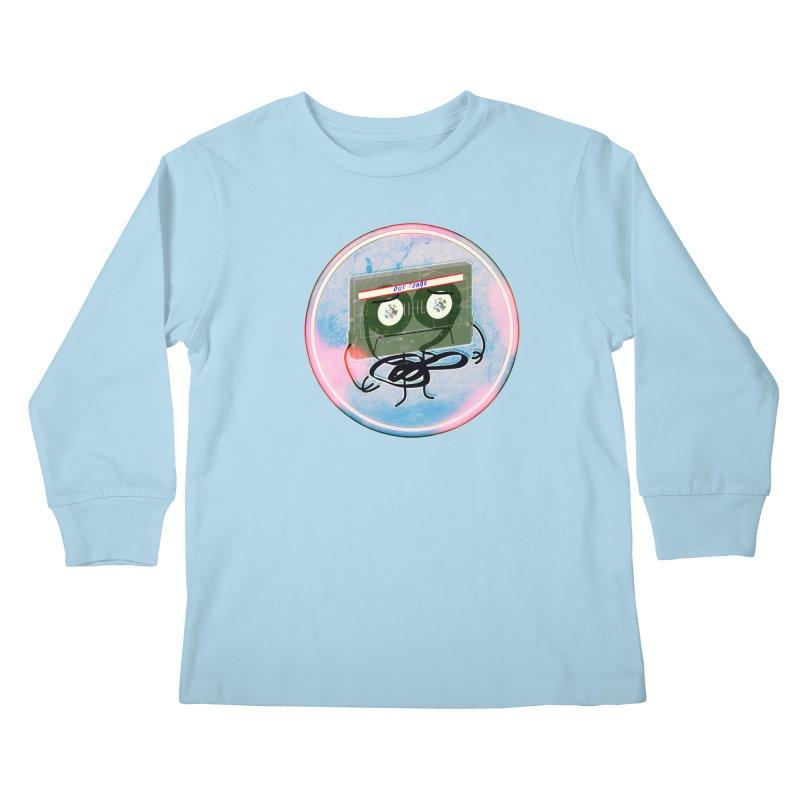 90's Break up. Kids Longsleeve T-Shirt by iridescent matter