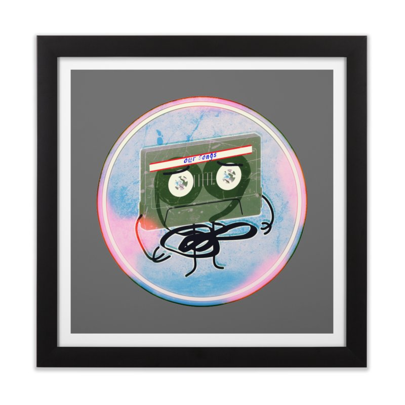 90's Break up. Home Framed Fine Art Print by iridescent matter