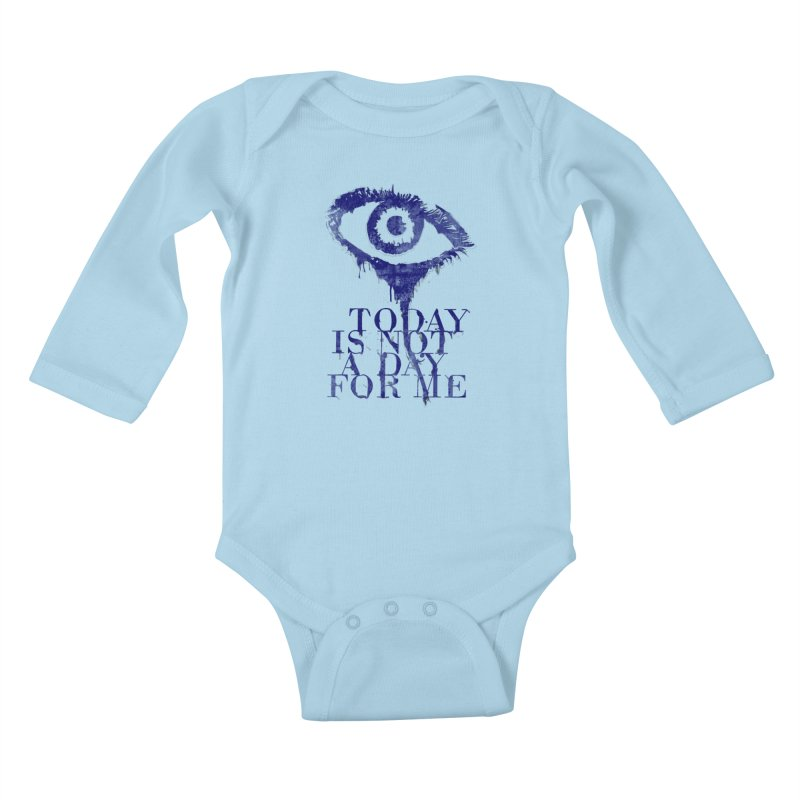 one of those days... Kids Baby Longsleeve Bodysuit by iridescent matter
