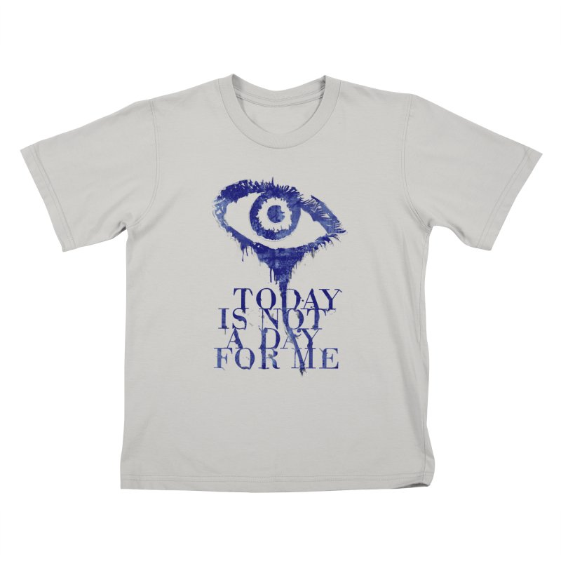 one of those days... Kids T-Shirt by iridescent matter
