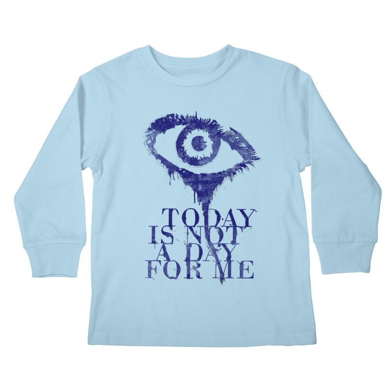 one of those days... Kids Longsleeve T-Shirt by iridescent matter