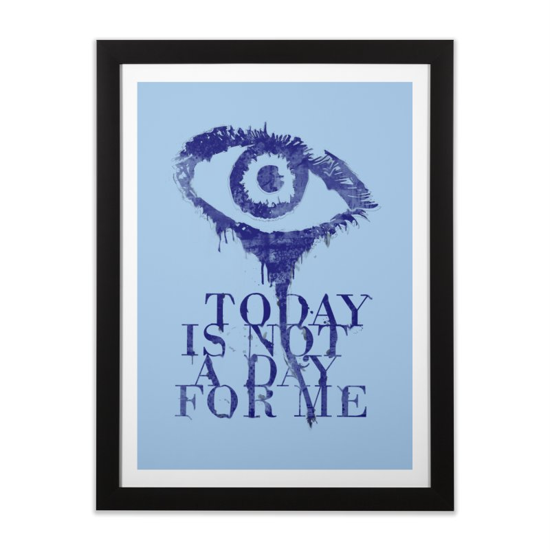 one of those days... Home Framed Fine Art Print by iridescent matter