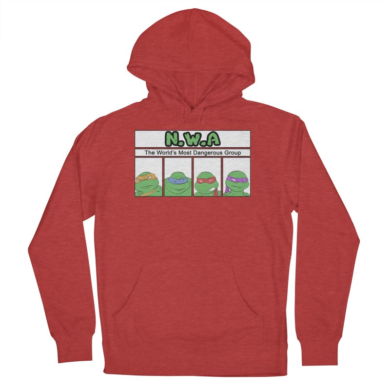 N.W.A Women's French Terry Pullover Hoody by iridescent matter